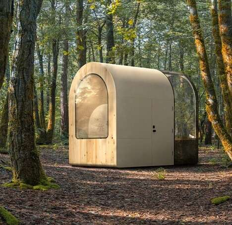 3D-Printed Office Pods