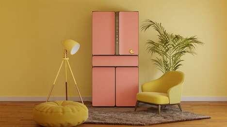 Interchangeable Finish Refrigerators