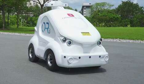 Roving Outdoor Security Robots