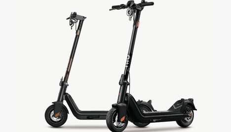 Tech-Enriched Commuter Scooters