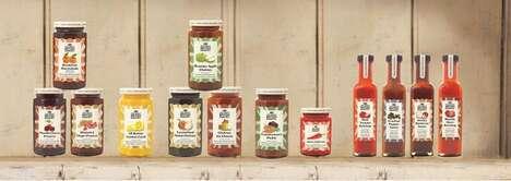 Authentic British-Made Condiments