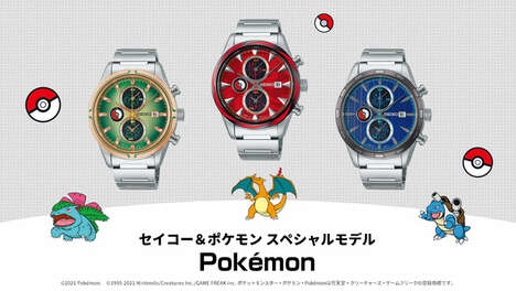 Anime-Themed Timepieces