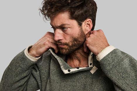 Recycled Bulletproof Vest Sweaters