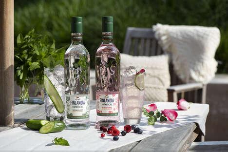 Refreshing Botanically Infused Vodkas
