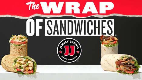 Fan-Favorite Salad-Inspired Wraps