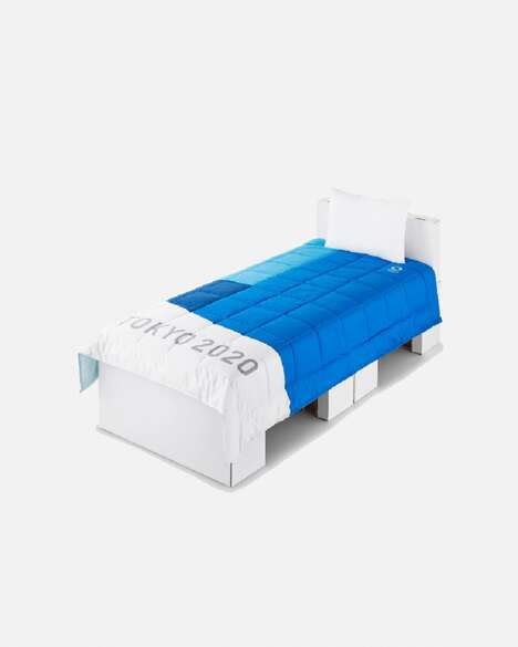 Recycled Modular Athlete Beds