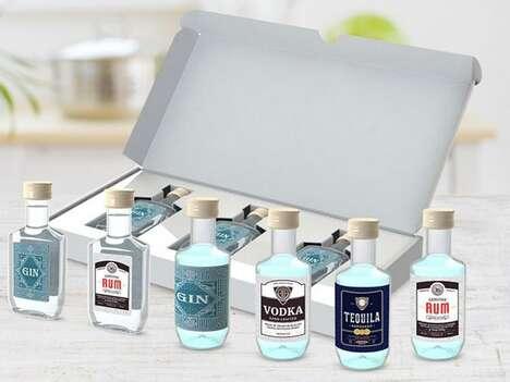 Light-Weight Postal-Friendly Spirit Bottles