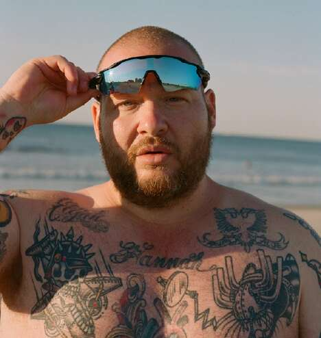 Rapper-Backed Eyewear Campaigns