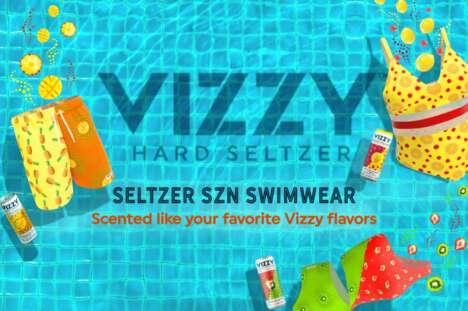 Exclusive Seltzer-Scented Swimwear