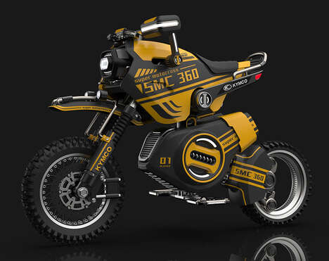Rugged Off-Road Motorcycle Designs