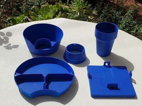 All-in-One Portable Dinnerware