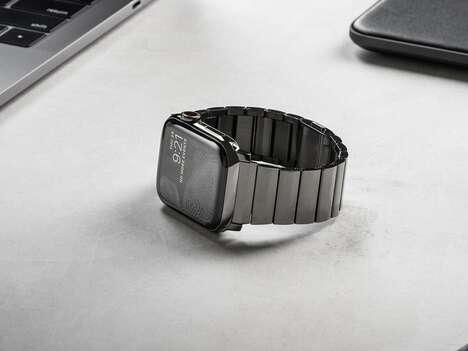 Upscale Steel Smartwatch Straps