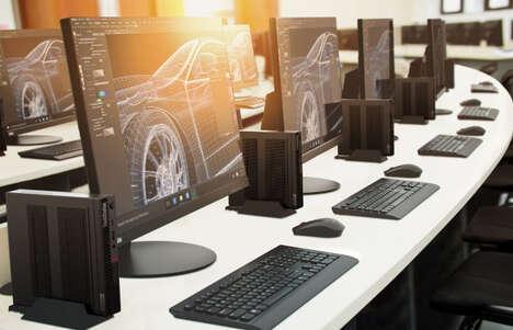 Compactly Powerful Desktop PCs