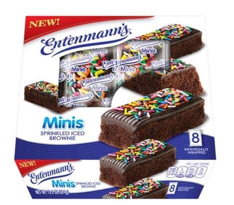 Miniature Iced Brownies