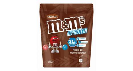 Candy Inspired Protein Powders