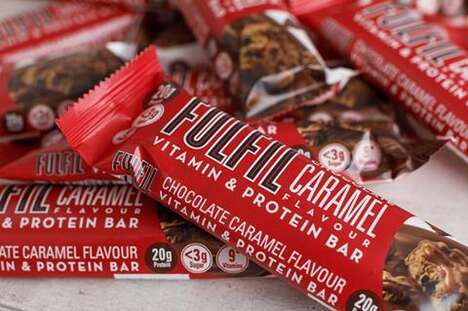 Vitamin-Enriched Protein Bars