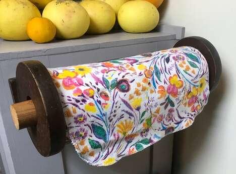 Reusable Fabric Paper Towels
