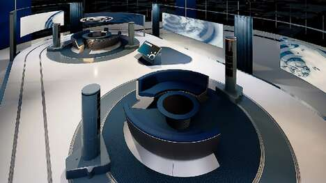 Virtual Reality News Studios