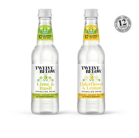 Low-Sugar Sparkling Beverages