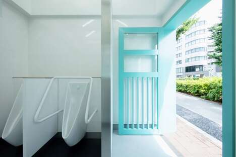 House-Shaped Restrooms