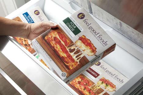Square Gluten-Free Pizzas