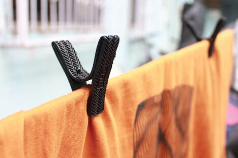 Mono-Material Clothing Pegs