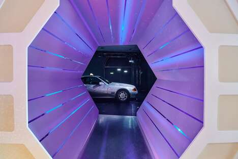 Interactive Space-Themed Exhibits