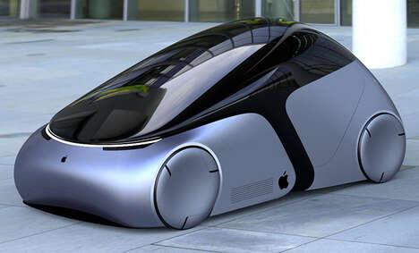 Sleek Tech Brand Vehicles