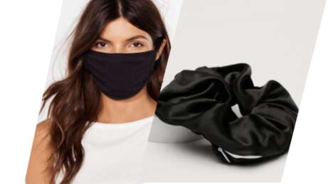 Face Mask-Holding Scrunchies