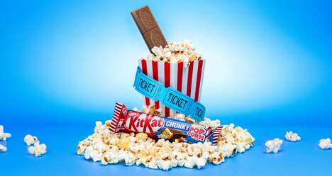 Movie Snack-Inspired Candy Bars