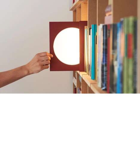 Slim Slide-Out Reading Lamps