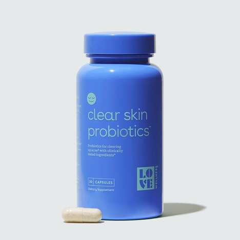 Skin-Caring Probiotic Supplements