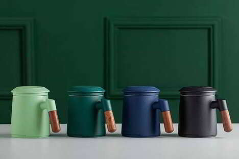 Modernist Tea Brewing Mugs