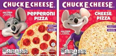 Restaurant-Themed Frozen Pizzas