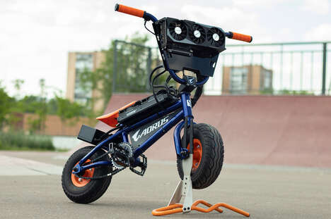 PC Hardware-Equipped Bikes