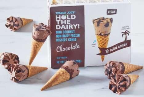 Dairy-Free Mini Cones