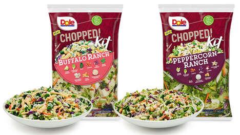 Prepared Peppercorn Salad Kits