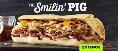 Triple Pork BBQ Sandwiches