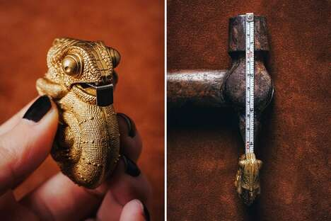 Hand-Crafted Reptile Tape Measures