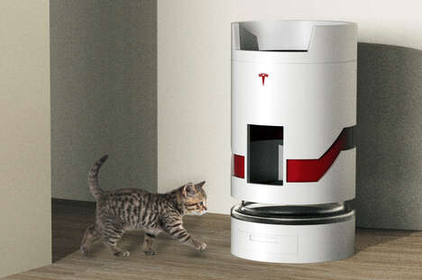 All-in-One Automotive Cat Towers