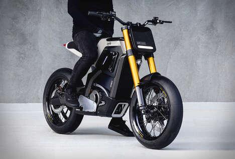 Minimalist Emissions-Free Motorcycles