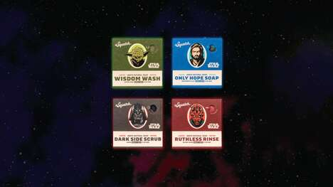Sci-Fi-Inspired Soap Collections
