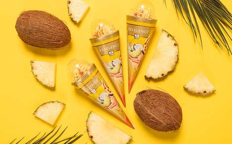 Cocktail-Inspired Ice Creams