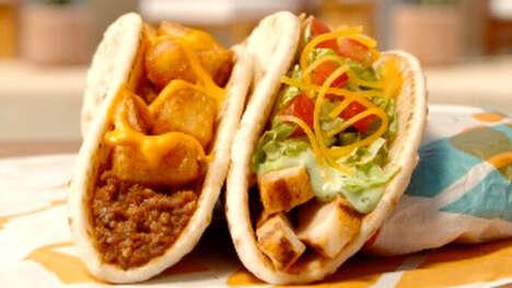 Loaded Flatbread Tacos