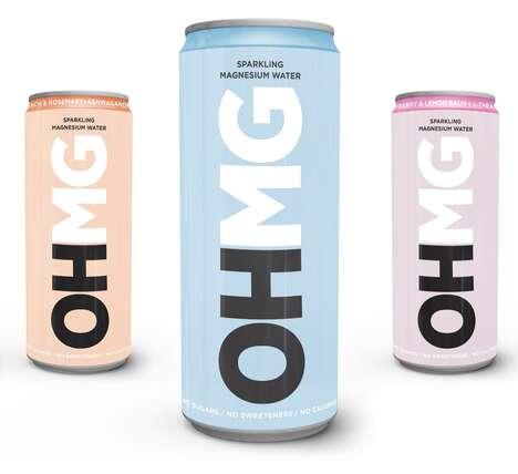 Sparkling Magnesium Beverages