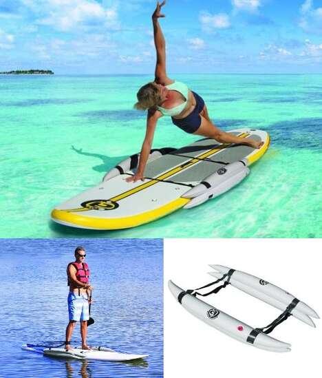 Inflatable Paddle Board Supports