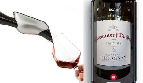 App-Connected Wine Aerators