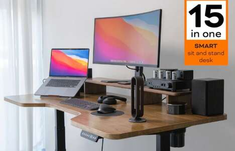 15-in-One Adjustable Workstations