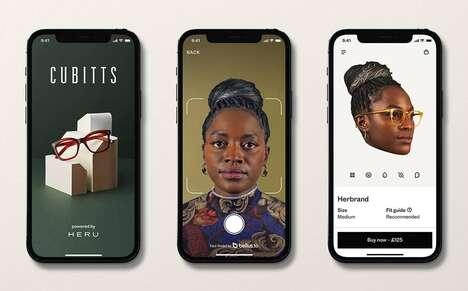 Face-Scanning Eyewear Apps