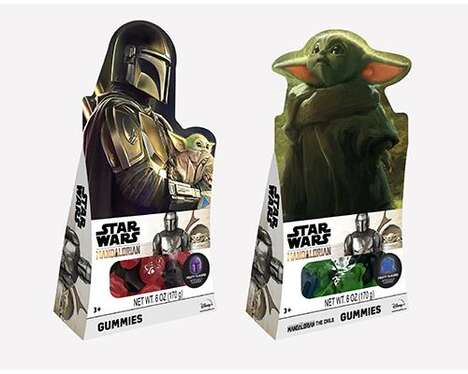 Sci-Fi-Themed Candy Ranges